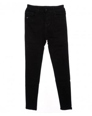 3320 New jeans американка черная осенняя стрейчевая (25-30, 6 ед.)