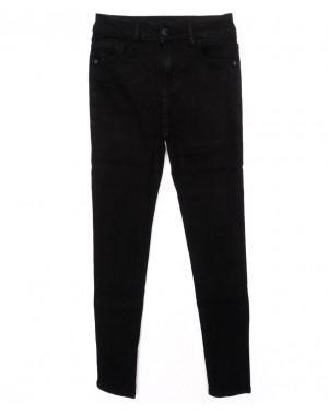 3314 New jeans джинсы женские черные осенние стрейчевые (25-30, 6 ед.)