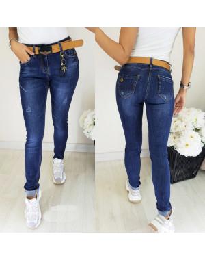 8151 Vanver джинсы женские с ремнем осенние стрейчевые (25-30, 6 ед.)
