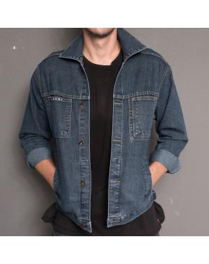 0800 L.V.D. куртка джинсовая на мальчика осенняя стрейчевая (28-31, 4 ед.)