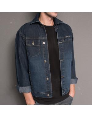 0804 L.V.D. куртка джинсовая на мальчика осенняя стрейчевая (28-31, 4 ед.)