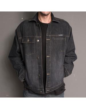 0828 L.V.D. куртка джинсовая молодежная осенняя стрейчевая (29-32, 4 ед.)