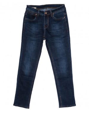 4002 DSOUAVIET джинсы мужские батальные синие осенние стрейчевые (32-42, 7 ед.)
