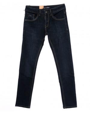 120247 LS джинсы мужские молодежные синие осенние стрейчевые (27-34, 8 ед.)