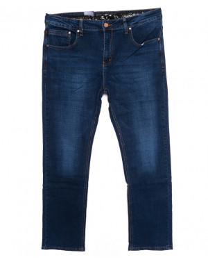 7012 Dgaken джинсы мужские батальные синие осенние стрейчевые (32-38, 8 ед.)