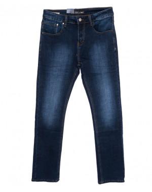 7016 Dgaken джинсы мужские батальные синие осенние стрейчевые (32-42, 8 ед.)