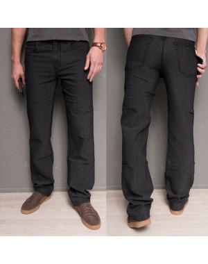 0182-11 Hugo Boss джинсы мужские черные осенние стрейчевые (30-40, 12 ед.)