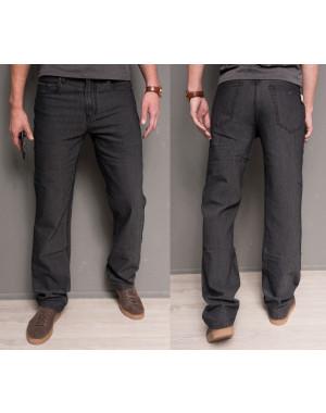 0180-11 Hugo Boss джинсы мужские темно-серые осенние стрейчевые (30-40, 12 ед.)