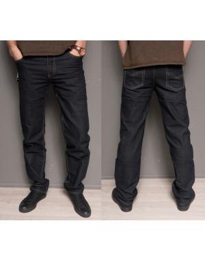 4000 Vietkenzo № черный джинсы мужские батальные классические осенние стрейчевые (32-42, 7 ед.)