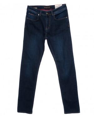 0173 Red Moon джинсы мужские синие осеннии стрейчевые (31-38, рост 38, 6 ед.)