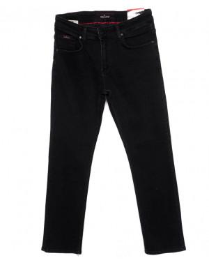 0354 Red Moon джинсы мужские черные осеннии стрейчевые (31-38, 6 ед.)