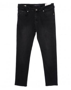 0529 D.Milito джинсы мужские темно-серые осеннии стрейчевые (30-36, 6 ед.)