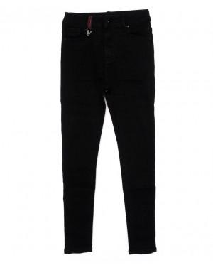 3352 New jeans американка черная осенняя стрейчевая (25-30, 6 ед.)