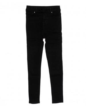 3369 New jeans американка черная осенняя стрейчевая (25-30, 6 ед.)