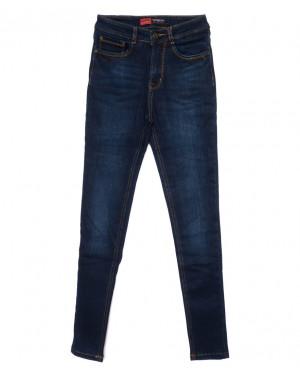 0716-2 Relucky американка синяя зимняя на байке стрейчевая (25-30, 6 ед.)