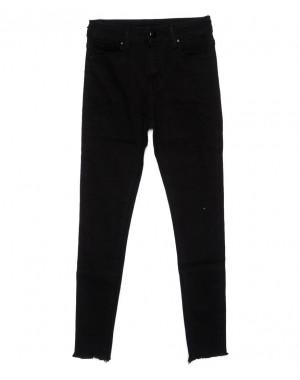 3397 New jeans американка черная осенняя стрейчевая (25-30, 6 ед.)