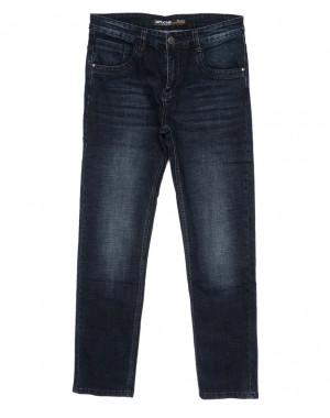 0076 Mr.King джинсы мужские полубатальные синие осенние стрейчевые (32-38, 8 ед.)
