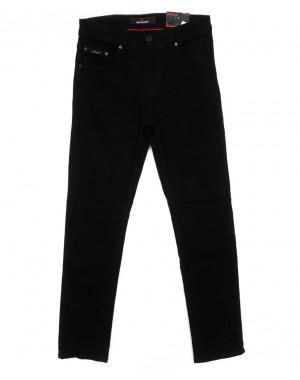 0124 Redmoon джинсы мужские черные осенние стрейчевые (31-38, 6 ед)