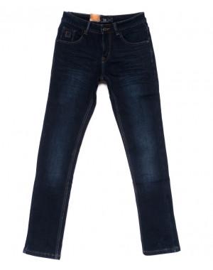 2023 LS джинсы мужские молодежные на флисе зимние стрейч-котон (28-36, 8 ед.)
