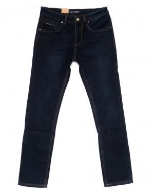 2055 LS джинсы мужские молодежные на флисе зимние стрейч-котон (28-36, 8 ед.)
