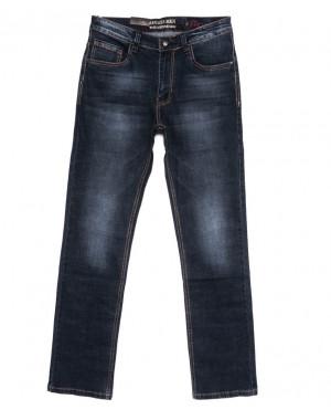 7928-09 Regass джинсы мужские полубатальные осенние стрейчевые (32-38, 7 ед.)