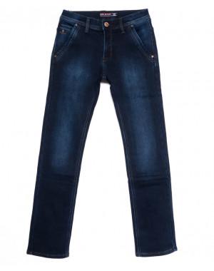 3723 Bigboss джинсы мужские синие на флисе зимние стрейчевые (29-38, 8 ед.)