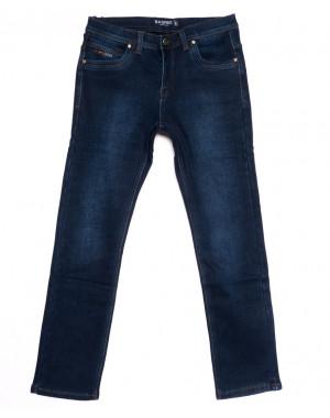 3560 Bagrbo джинсы мужские синие на флисе зимние стрейчевые (31-36, 8 ед.)