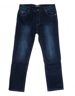 0102 Bagrbo джинсы мужские полубатальные на флисе зимние стрейчевые (32-42, 8 ед.)