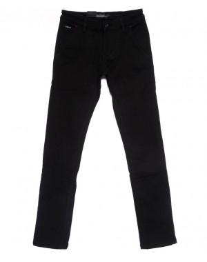 4006-X LS брюки мужские молодежные на флисе зимние стрейчевые (27-34, 8 ед.)