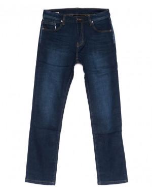 3546 New jeans джинсы мужские синие на флисе зимние стрейчевые (29-38, 8 ед.)