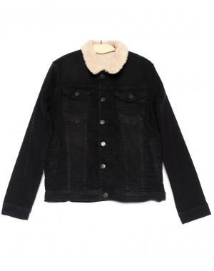 2053 X куртка мужская черная осенняя стрейчевая (S-XL, 5 ед.)