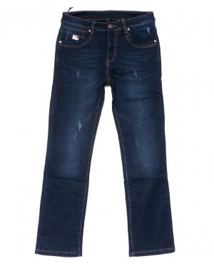 3505 New jeans джинсы мужские с царапками на флисе зимние стрейчевые (29-38, 8 ед.)
