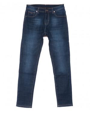 3512 New jeans джинсы мужские классические на флисе зимние стрейчевые (29-38, 8 ед.)