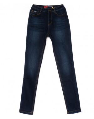 0731-4 Relucky джинсы женские синие на флисе зимние стрейчевые (25-30, 6 ед)