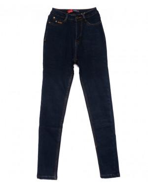 0855-4 Relucky американка синяя на флисе зимняя стрейчевая (25-30, 6 ед)