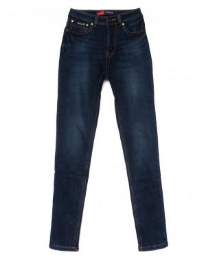 0729-4 Relucky джинсы женские синие на флисе зимние стрейчевые (25-30, 6 ед)