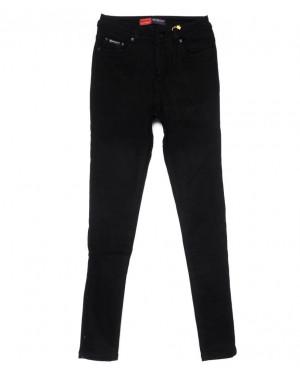 0739-4 Relucky джинсы женские черные на флисе зимние стрейчевые (25-30, 6 ед)