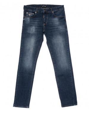 0015-21-011 Antony Morato джинсы мужские полубатальные синие осенние стрейчевые (32-38, 7 ед.)