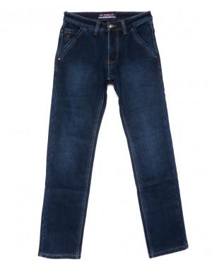 8203 Vouma-Up джинсы мужские синие на флисе зимние стрейчевые (29-38, 8 ед.)