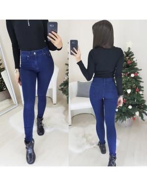 3472 New jeans американка синяя осенняя стрейчевая (25-30, 6 ед.)