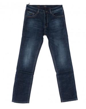 8221 FHOUS джинсы мужские синие на флисе зимние стрейчевые (29-36, 8 ед.)