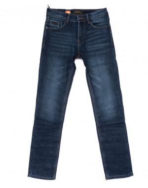 18241 Vouma-Up джинсы мужские синие на флисе зимние стрейчевые (29-38, 8 ед.)