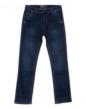 8809 Bagrbo джинсы мужские полубатальные синие осенние стрейчевые (32-38, 8 ед)