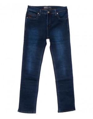 6631 Bagrbo джинсы мужские полубатальные синие осенние стрейчевые (32-38, 8 ед)
