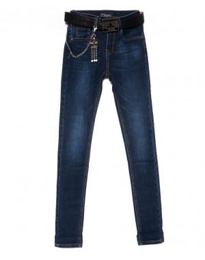 2106 Dknsel джинсы женские зауженные синие осенние стрейчевые (25-30, 6 ед)