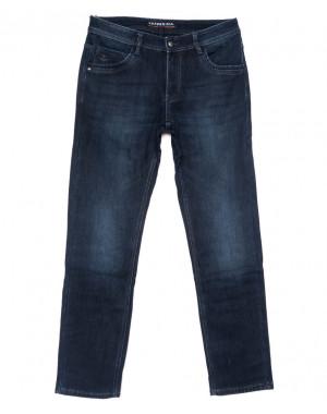 8292 Fangsida джинсы мужские полубатальные синие на флисе зимние стрейчевые (32-38, 8 ед.)