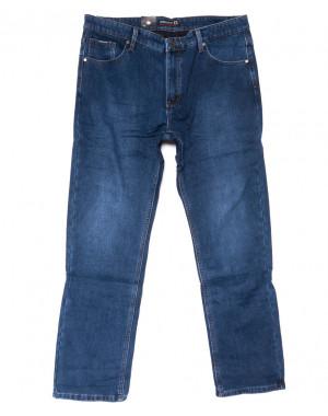 2093 Dsqatard джинсы мужские батальные синие на флисе зимние стрейчевые (36-46, 8 ед.)