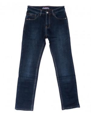 8211 Vouma-Up джинсы мужские полубатальные синие на флисе зимние стрейчевые (32-42, 8 ед.)