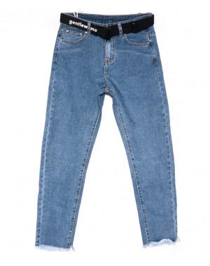 3607 New jeans мом синий весенний коттоновый (25-30, 6 ед.)
