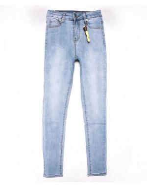 3600 New jeans американка голубая весенняя стрейчевая (25-30, 6 ед.)